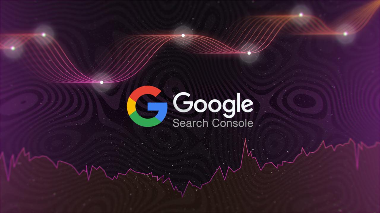 grafik mit logo der google search console