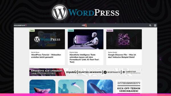 WordPress-Themes – Deine Seite in deinem Design